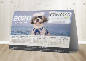 Osmosis Tent Calendar B