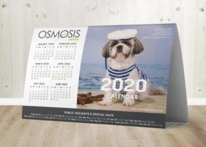 Osmosis Tent Calendar C