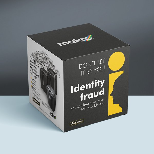 Makro Identity Fraud boxes